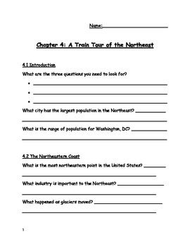 Social Studies Alive!, Northeast, Chapter 4