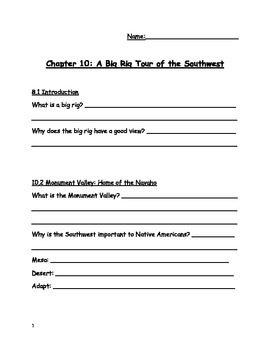 Social Studies Alive! Regions of Our Country, Chapter 10