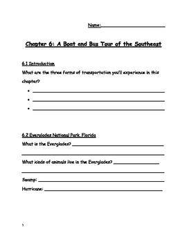 Social Studies Alive!, Southeast, Chapter 6
