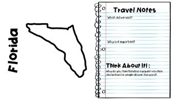 Social Studies ALIVE!  Southeast Travel Guide