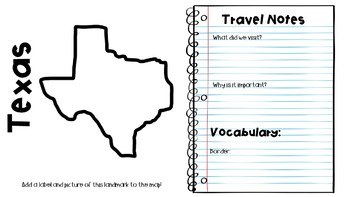 Social Studies ALIVE!  Southwest Travel Guide