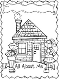 Social Studies- All About Me Book (English)