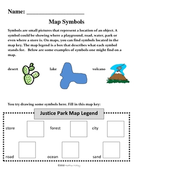 Social Studies: All about Maps Packet