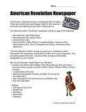 Social Studies American Revolution/Revolutionary War Resea