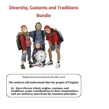 Social Studies: Americans are Diverse Bundle