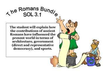 Social Studies: Ancient Rome : The Roman Empire Pack