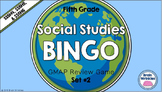 Social Studies BINGO - 5th Grade GMAP Review (Set 2 of 3)