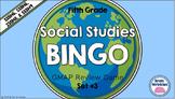 Social Studies BINGO - 5th Grade GMAP Review (Set 3 of 3)