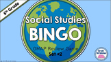Social Studies BINGO - 6th Grade GMAP Review (Set 2 of 2)