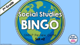 Social Studies BINGO - 7th Grade GMAP Review (Set 2 of 2)