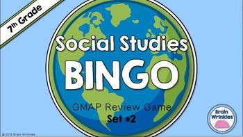 Social Studies BINGO - 7th Grade GMAP Review (Set 2 of 2)