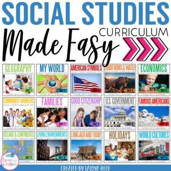 Social Studies Bundle By Latoya Reed Teachers Pay Teachers
