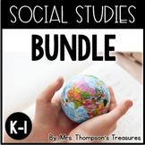 Social Studies BUNDLE - Kindergarten and First