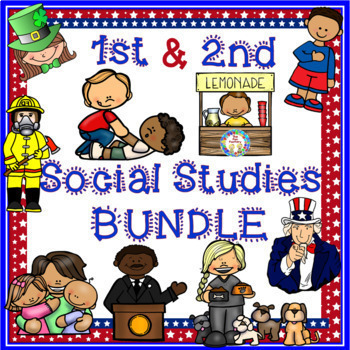 Social Studies Activities for 1st and 2nd Grades