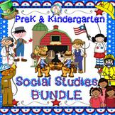 Social Studies Activities for PreK and Kindergarten 240 Pages