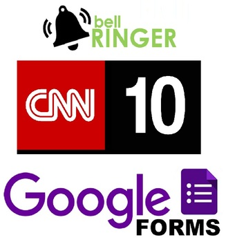 Social Studies Bell Ringers. Daily CNN10 Google Drive Forms! Spring 2018