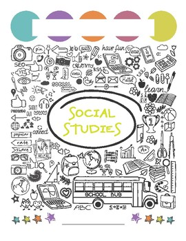 Social Studies Binder Cover Worksheets Teaching Resources Tpt