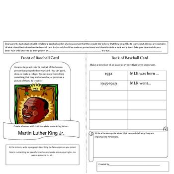 Social Studies: Black History Project : February