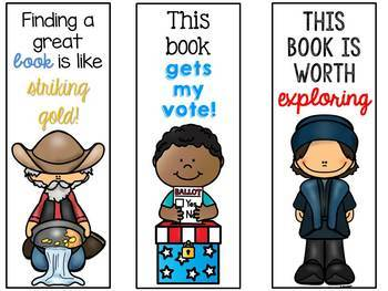 Social Studies Bookmarks
