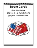 Social Studies Boom Cards - Cold War Review