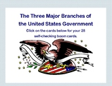 Social Studies Boom Cards-Three Branches of the U.S. Government