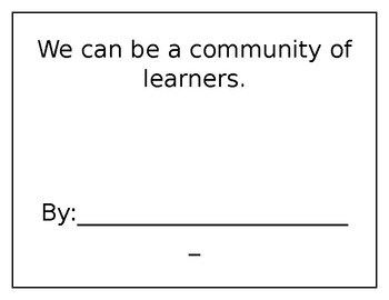 Social Studies-Building a community of learners