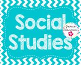Social Studies Bulletin Board Headers