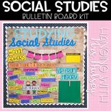 Social Studies Bulletin Board Kit