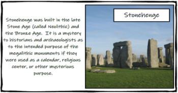 Social Studies Bulletin Board: World Landmarks
