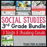 3rd Grade Social Studies Unit Bundle