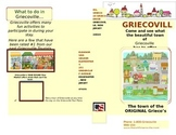 Social Studies CCSS Fantasy town editable brochure