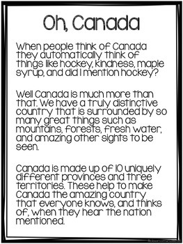 Social Studies -Canada & Physical Regions- Ontario, Grade 4