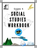 Social Studies - Canada's Regions  - Grade 4 Workbook