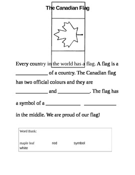Social Studies: Canadian Flag