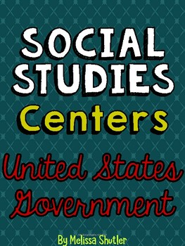 Social Studies Center- Government