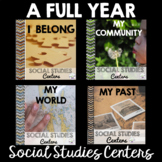 Social Studies Centers- A FULL YEAR