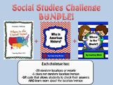 Social Studies Challenge BUNDLE