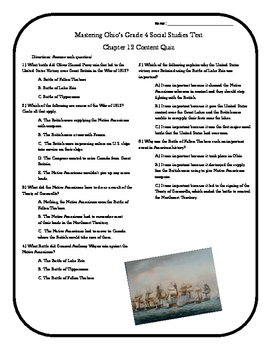 Social Studies Chapter 12 Notebook Pages
