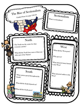 Social Studies Chapter 13 Notebook Pages