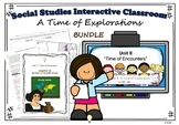 Social Studies Chapter 3 A Time of Exploration US History BUNDLE