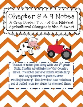 Social Studies Alive Ch. 8 & 9 Notes 4th Grade