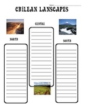 Social Studies - Chilean Landscapes - Worksheet
