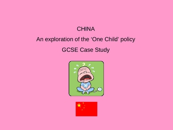 Social Studies - China's One Child Policy PowerPoint
