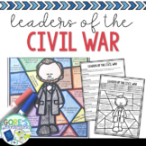 Leaders of the Civil War Activity