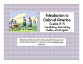 Social Studies: Colonial America: New England, Middle, and
