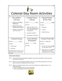Social Studies, Colonial Day Stations