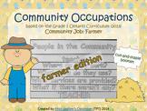 Social Studies: Community Occupations Booklet - Farmer {Ontario Curriculum}