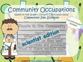 Social Studies: Community Occupations Booklet - Scientist