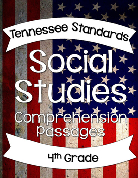 Social Studies Comprehension Passages 4th Grade