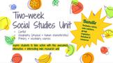 Social Studies {Mini 2-Week Unit} Conflict Bundle